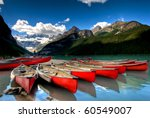 Canoes On Beautiful Tourquoise...