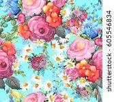 Beautiful Watercolor Bouquet O...