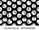 hand drawn pattern texture...   Shutterstock .eps vector #605608088