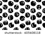 hand drawn pattern texture...   Shutterstock .eps vector #605608118