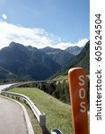 rescue service dangerous road | Shutterstock . vector #605624504
