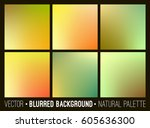 blurred abstract backgrounds... | Shutterstock .eps vector #605636300