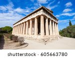 The Temple Of Hephaestus Or...