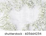 background with tiny white... | Shutterstock . vector #605664254