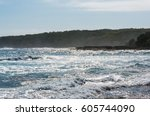 Stormy Ocean With Rapid Waves...