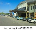 mersing malaysia   september 10 ... | Shutterstock . vector #605758220