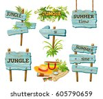 panels for message. cartoon... | Shutterstock .eps vector #605790659