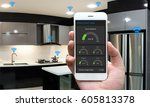 internet of things   iot  ... | Shutterstock . vector #605813378