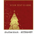 christmas and new year... | Shutterstock .eps vector #60586489
