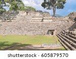 unesco world heritage site ... | Shutterstock . vector #605879570