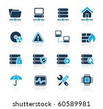 network  server   hosting web... | Shutterstock .eps vector #60589981