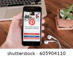 chiangmai thailand   jan 18 ... | Shutterstock . vector #605904110