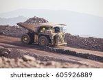 mining activity  mining dump... | Shutterstock . vector #605926889