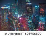 shanghai  china  17 jan 2017 ... | Shutterstock . vector #605966870