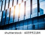 urban abstract   windowed... | Shutterstock . vector #605992184