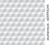 geometric op art pattern  ... | Shutterstock .eps vector #605993144