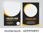 vector layout design template... | Shutterstock .eps vector #605994893