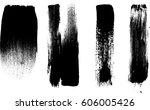 grunge paint stripe . vector... | Shutterstock .eps vector #606005426