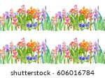 panoramic view of garden... | Shutterstock . vector #606016784