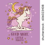 dreamy poster for good night... | Shutterstock .eps vector #606023408