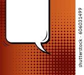 abstract creative concept comic ... | Shutterstock .eps vector #606031499