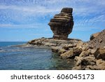 Rock Formation On The Sea Shor...
