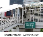 jakarta  indonesia   february 5 ... | Shutterstock . vector #606046859
