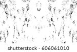 grunge black and white urban... | Shutterstock .eps vector #606061010