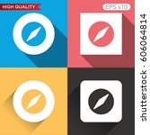 colored icon or button of... | Shutterstock .eps vector #606064814