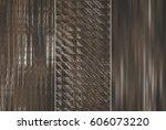 set of three brown  backgrounds ... | Shutterstock . vector #606073220