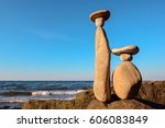 symbolic figurines of the... | Shutterstock . vector #606083849