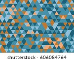 abstract triangle background.   Shutterstock .eps vector #606084764