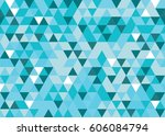abstract triangle background. | Shutterstock .eps vector #606084794