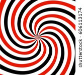 Red  Black And White Spiral ...