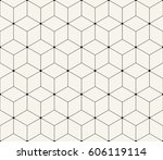 sacred geometry grid graphic... | Shutterstock .eps vector #606119114