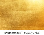 gold background or texture and... | Shutterstock . vector #606140768