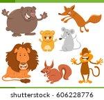 cartoon illustration of... | Shutterstock .eps vector #606228776