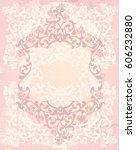vintage style background in... | Shutterstock . vector #606232880