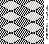 seamless vector abstract... | Shutterstock .eps vector #606252863