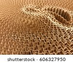 abstract background of side... | Shutterstock . vector #606327950