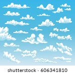 cartoon clouds collection on...
