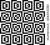 vector seamless pattern.... | Shutterstock .eps vector #606343280