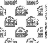 seamless vector pattern with a...   Shutterstock .eps vector #606372854