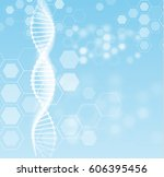 abstract shiny science vector... | Shutterstock .eps vector #606395456