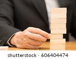 alternative risk concept.... | Shutterstock . vector #606404474