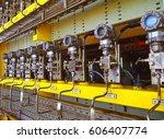 pressure transmitter to... | Shutterstock . vector #606407774