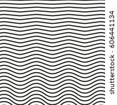 black and white striped lines.... | Shutterstock .eps vector #606441134