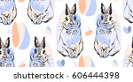 hand drawn vector abstract... | Shutterstock .eps vector #606444398