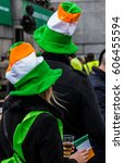 People Celebrating St. Patrick...