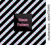 pattern stripe | Shutterstock .eps vector #606475490